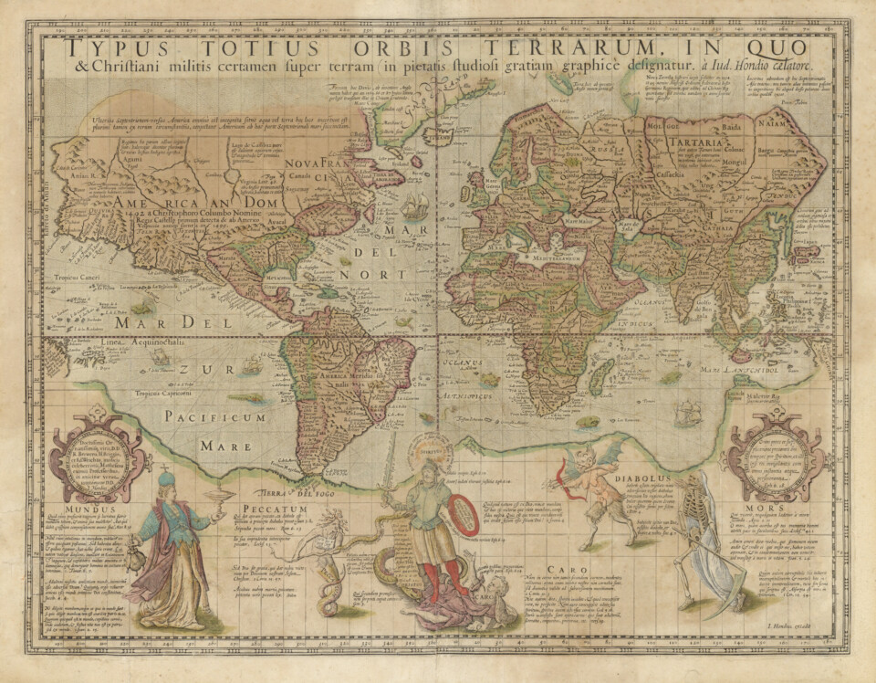 The Christian Knight Map - Daniel Crouch Rare Books - Antique and vintage maps, rare books, charts and atlases